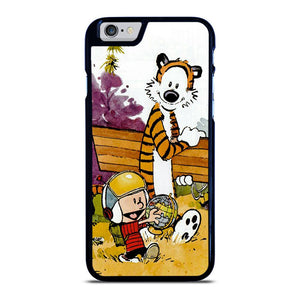 CALVIN AND HOBBES CARTOON iPhone 6 / 6S hoesje - goedhoesje