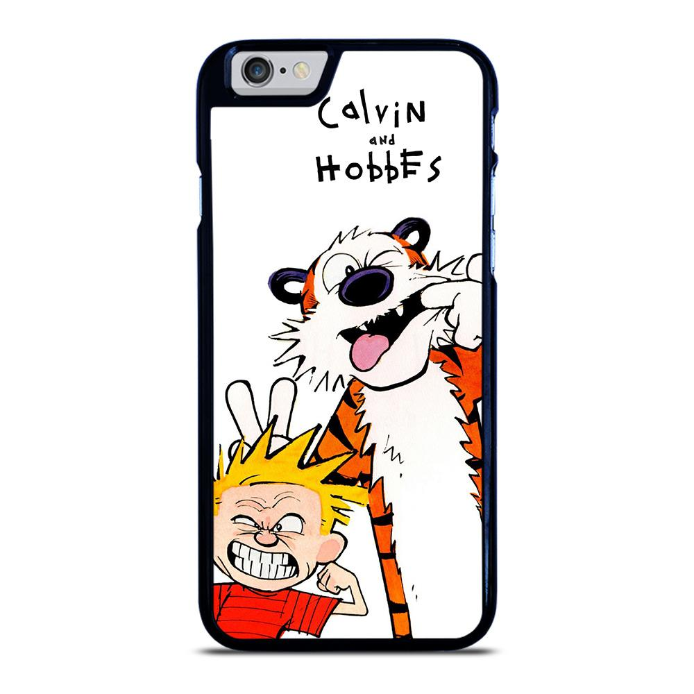 CALVIN AND HOBBES CARTOON iPhone 6 / 6S hoesje