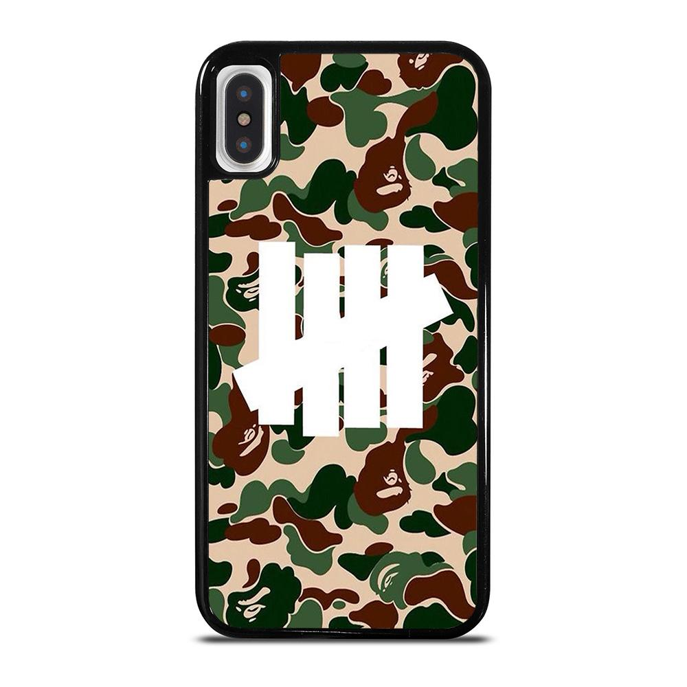 CAMO UNDEFEATED LOGO iPhone X / XS Hoesje