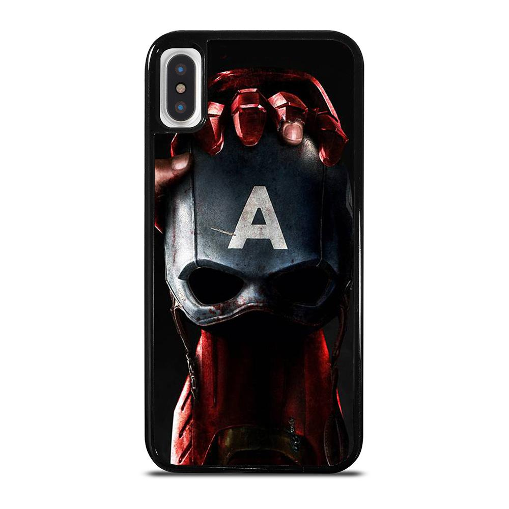 CAPTAIN AMERICA VS IRON MAN iPhone X / XS Hoesje