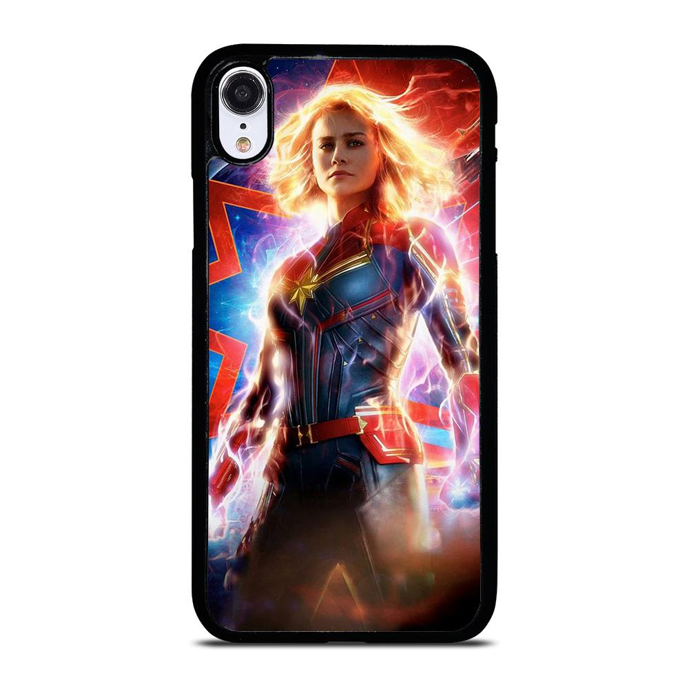 CAPTAIN MARVEL SUPER HERO iPhone XR Hoesje,leren iphone xr hoesje leren iphone xr hoesje,CAPTAIN MARVEL SUPER HERO iPhone XR Hoesje