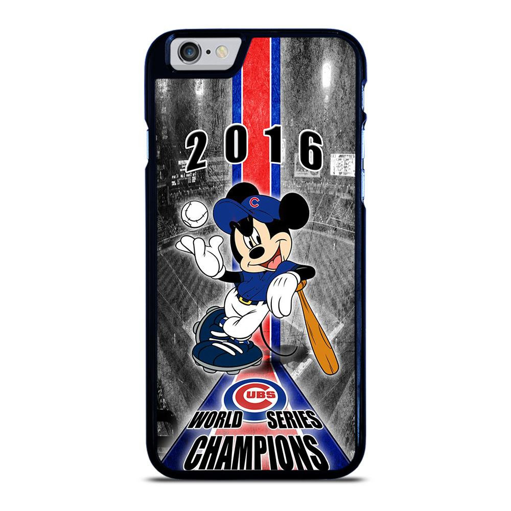 CHICAGO CUBS MICKEY MOUSE iPhone 6 / 6S Hoesje - goedhoesje