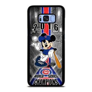 CHICAGO CUBS MICKEY MOUSE Samsung Galaxy S8 Plus Hoesje,s8  hoesje samsung s8 plus hoesje action,CHICAGO CUBS MICKEY MOUSE Samsung Galaxy S8 Plus Hoesje