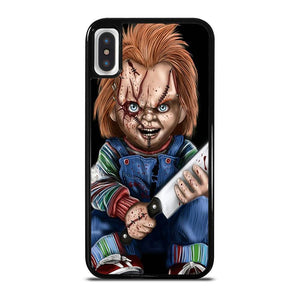 CHUCKY WITH KNIFE iPhone X / XS Hoesje
