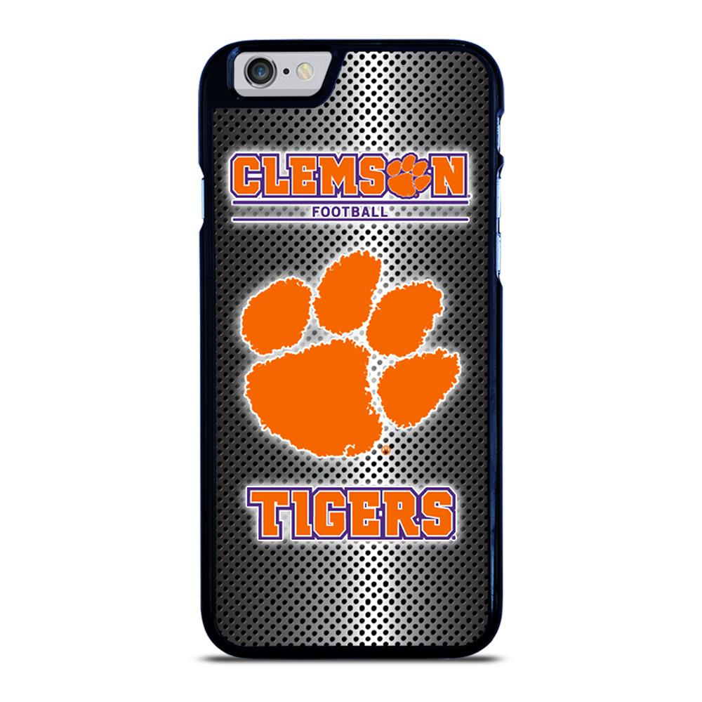 CLEMSON TIGERS METAL LOGO iPhone 6 / 6S hoesje