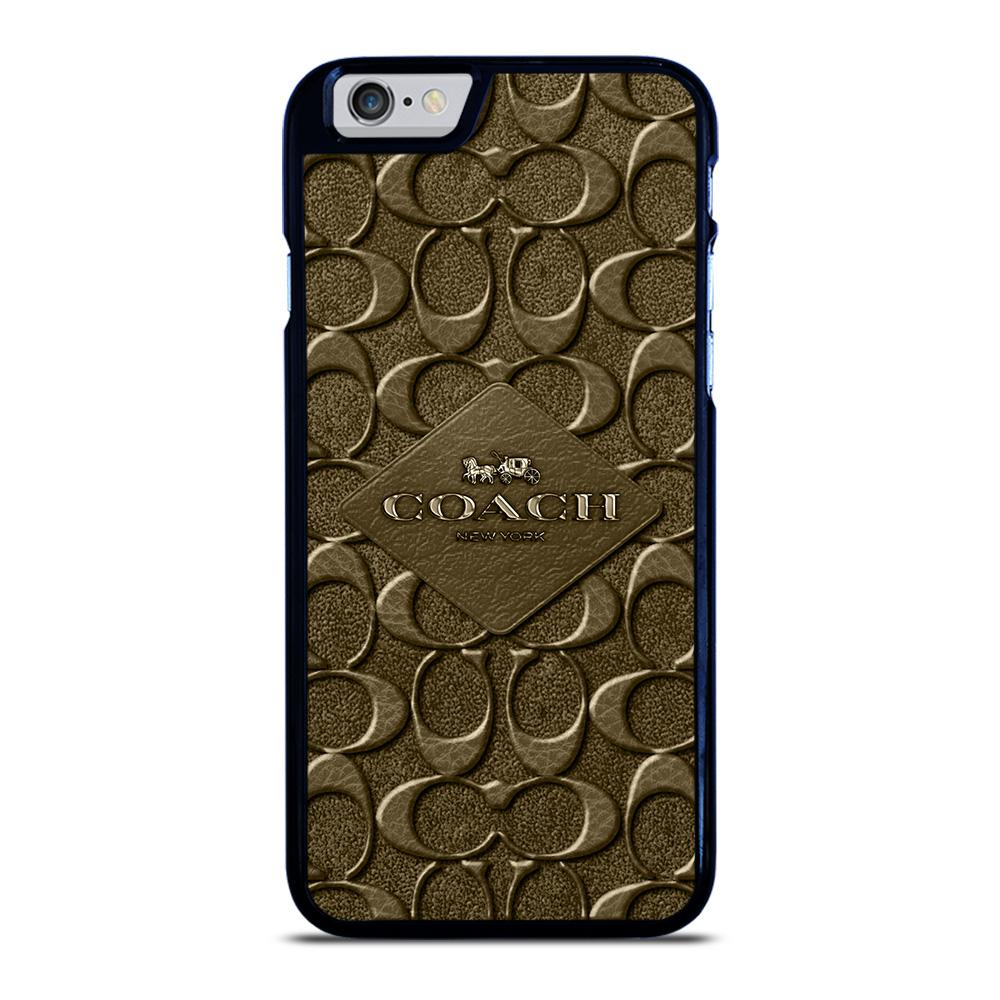 COACH NEW YORK LOGO iPhone 6 / 6S hoesje