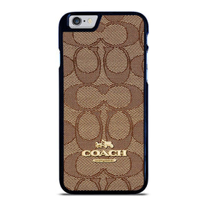 COACH NEW YORK PATTERN iPhone 6 / 6S hoesje - goedhoesje
