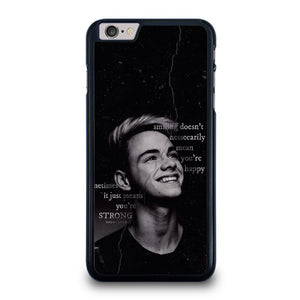 CORBYN BESSON WHY DON'T WE QUOTES iPhone 6 / 6S Plus Hoesje
