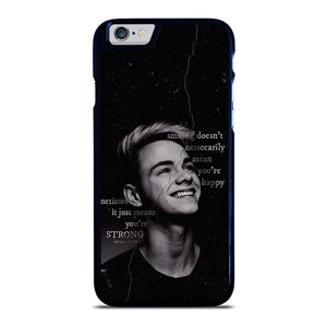 CORBYN BESSON WHY DON'T WE QUOTES iPhone 6 / 6S hoesje