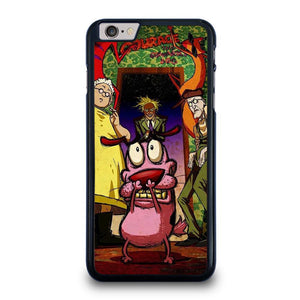 COURAGE THE COWARDLY DOG ART iPhone 6 / 6S Plus Hoesje