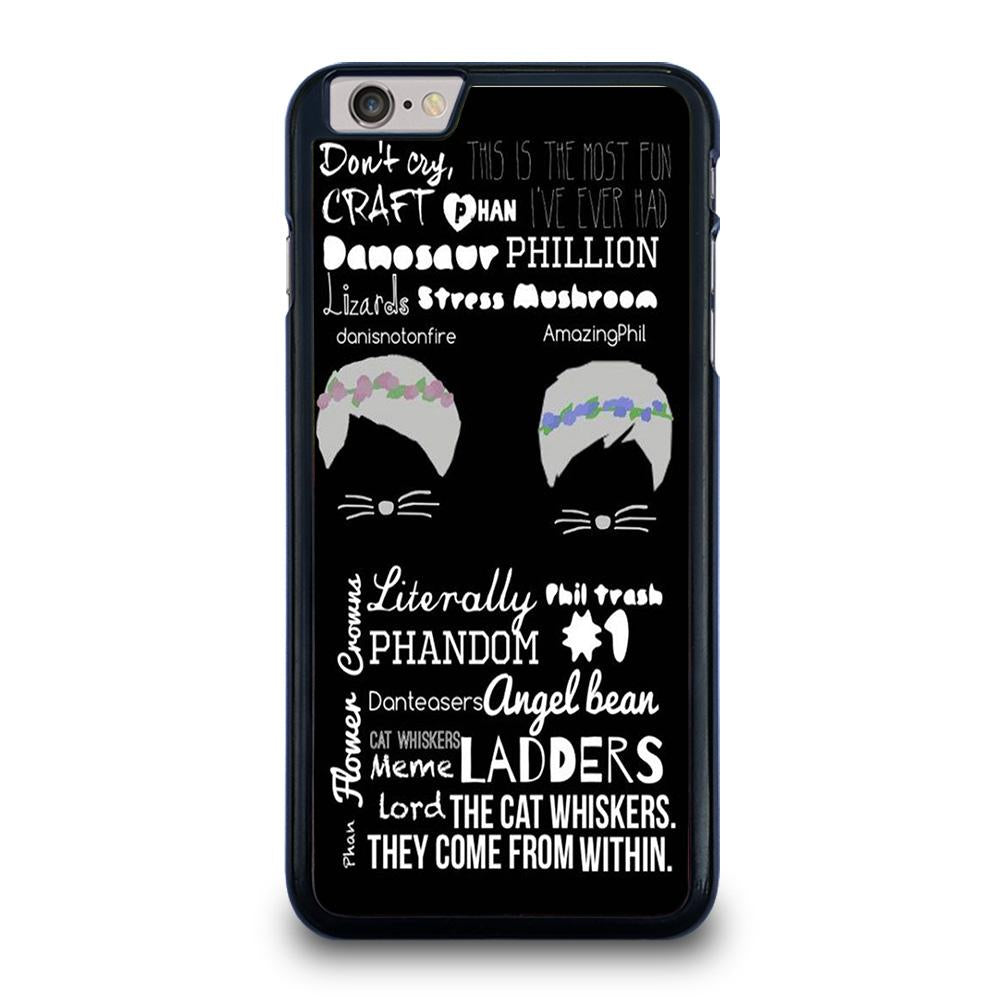 DAN AND PHIL QOTE iPhone 6 / 6S Plus Hoesje
