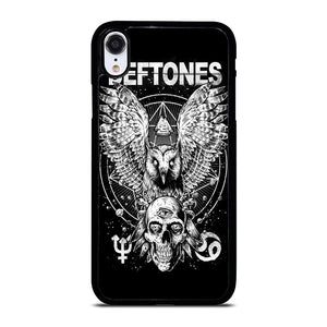 DEFTONES ROCK BAND SKULL LOGO iPhone XR Hoesje,iphone xr hoesje transparant leren iphone xr hoesje,DEFTONES ROCK BAND SKULL LOGO iPhone XR Hoesje