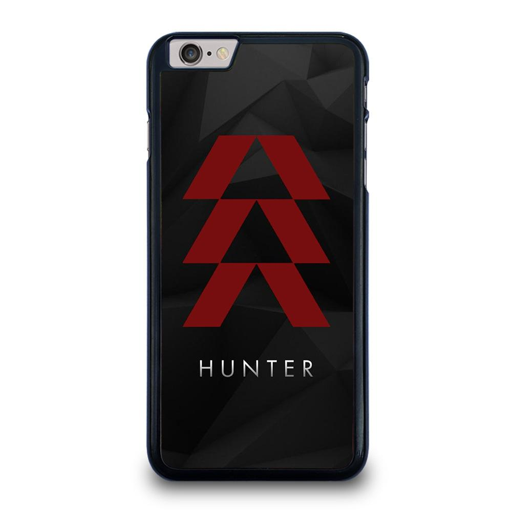 DESTINY HUNTER LOGO BLACK iPhone 6 / 6S Plus Hoesje