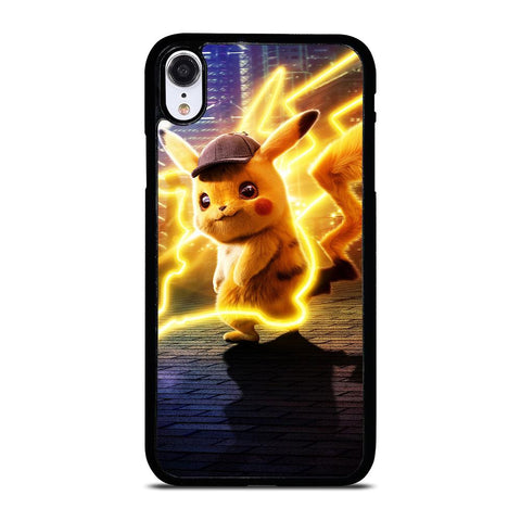 DETECTIVE PIKACHU POKEMON iPhone XR Hoesje,kpn iphone xr hoesje iphone xr hoesje grip,DETECTIVE PIKACHU POKEMON iPhone XR Hoesje
