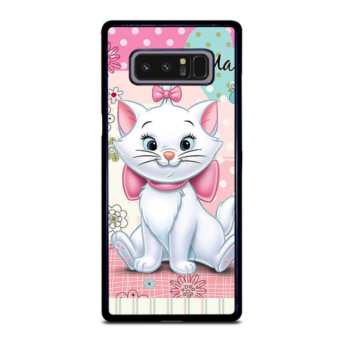 coque custodia cover fundas hoesjes j3 J5 J6 s20 s10 s9 s8 s7 s6 s5 plus edge D21695 DISNEY THE ARISTOCATS MARIE Samsung Galaxy Note 8 Case