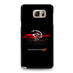 coque custodia cover fundas hoesjes j3 J5 J6 s20 s10 s9 s8 s7 s6 s5 plus edge D21951 DODGE CAR DEMON LOGO #1 Samsung Galaxy Note 5 Case