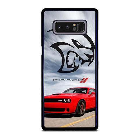 coque custodia cover fundas hoesjes j3 J5 J6 s20 s10 s9 s8 s7 s6 s5 plus edge D21970 DODGE CAR DEMON LOGO RED #2 Samsung Galaxy Note 8 Case