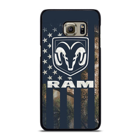 coque custodia cover fundas hoesjes j3 J5 J6 s20 s10 s9 s8 s7 s6 s5 plus edge D22062 DODGE RAM CAMO FLAG Samsung Galaxy S6 Edge Plus Case