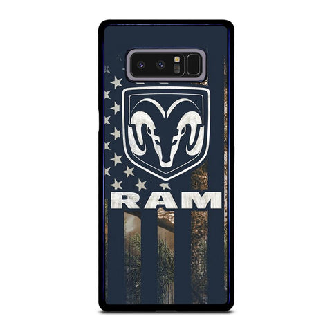 coque custodia cover fundas hoesjes j3 J5 J6 s20 s10 s9 s8 s7 s6 s5 plus edge D22054 DODGE RAM CAMO FLAG Samsung Galaxy Note 8 Case