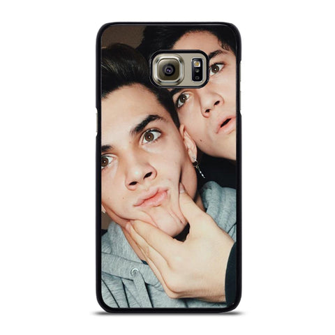 coque custodia cover fundas hoesjes j3 J5 J6 s20 s10 s9 s8 s7 s6 s5 plus edge D22111 DOLAN TWINS #1 Samsung Galaxy S6 Edge Plus Case