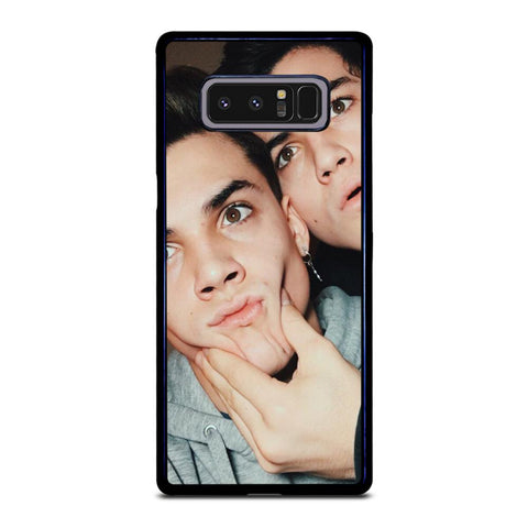 coque custodia cover fundas hoesjes j3 J5 J6 s20 s10 s9 s8 s7 s6 s5 plus edge D22103 DOLAN TWINS #1 Samsung Galaxy Note 8 Case