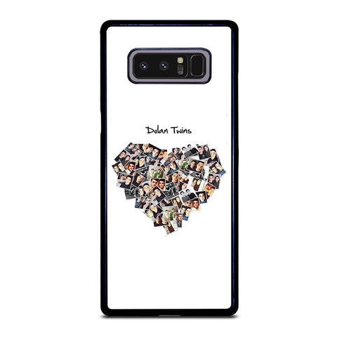 coque custodia cover fundas hoesjes j3 J5 J6 s20 s10 s9 s8 s7 s6 s5 plus edge D22120 DOLAN TWINS #3 Samsung Galaxy Note 8 Case