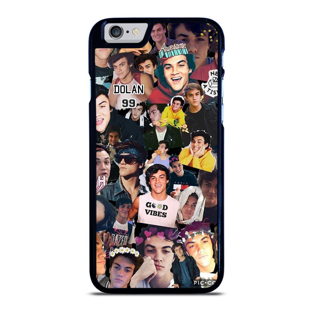 DOLAN TWINS COLLAGE iPhone 6 / 6S hoesje
