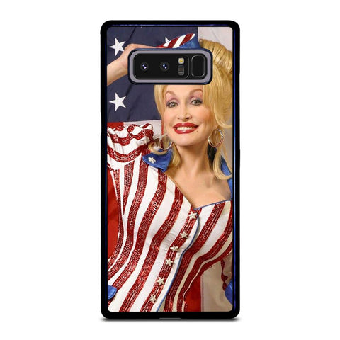 coque custodia cover fundas hoesjes j3 J5 J6 s20 s10 s9 s8 s7 s6 s5 plus edge D22183 DOLLY PARTON Samsung Galaxy Note 8 Case