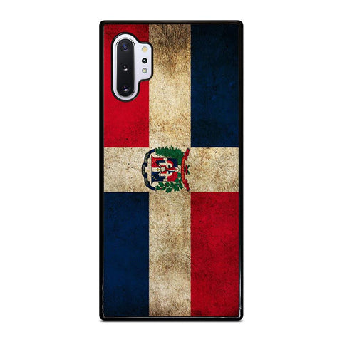 coque custodia cover fundas hoesjes j3 J5 J6 s20 s10 s9 s8 s7 s6 s5 plus edge D22196 DOMINICAN REPUBLIC FLAG 1 Samsung Galaxy Note 10 Plus Case