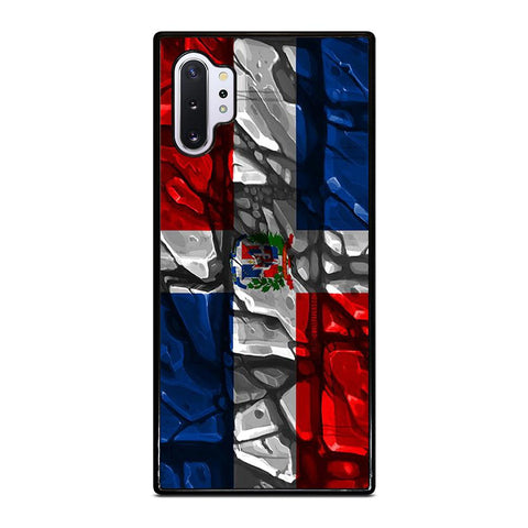 coque custodia cover fundas hoesjes j3 J5 J6 s20 s10 s9 s8 s7 s6 s5 plus edge D22207 DOMINICAN REPUBLIC FLAG Samsung Galaxy Note 10 Plus Case