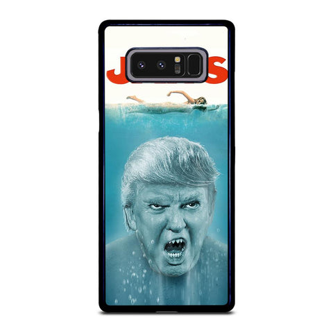 coque custodia cover fundas hoesjes j3 J5 J6 s20 s10 s9 s8 s7 s6 s5 plus edge D22231 DONALD TRUMP JAWS Samsung Galaxy Note 8 Case