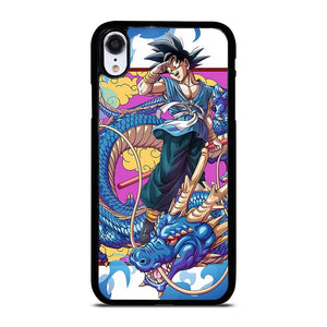 DRAGON SON BALL GOKU AND SHENLONG iPhone XR Hoesje,iphone xr hoesje zwart xr hoesje,DRAGON SON BALL GOKU AND SHENLONG iPhone XR Hoesje