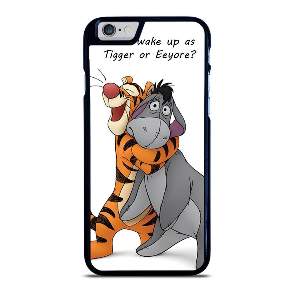EEYORE DONKEY AND TIGGER QUOTE iPhone 6 / 6S hoesje