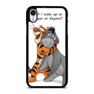 EEYORE DONKEY AND TIGGER QUOTE iPhone XR Hoesje,kpn iphone xr hoesje iphone xr hoesje met pasjes,EEYORE DONKEY AND TIGGER QUOTE iPhone XR Hoesje