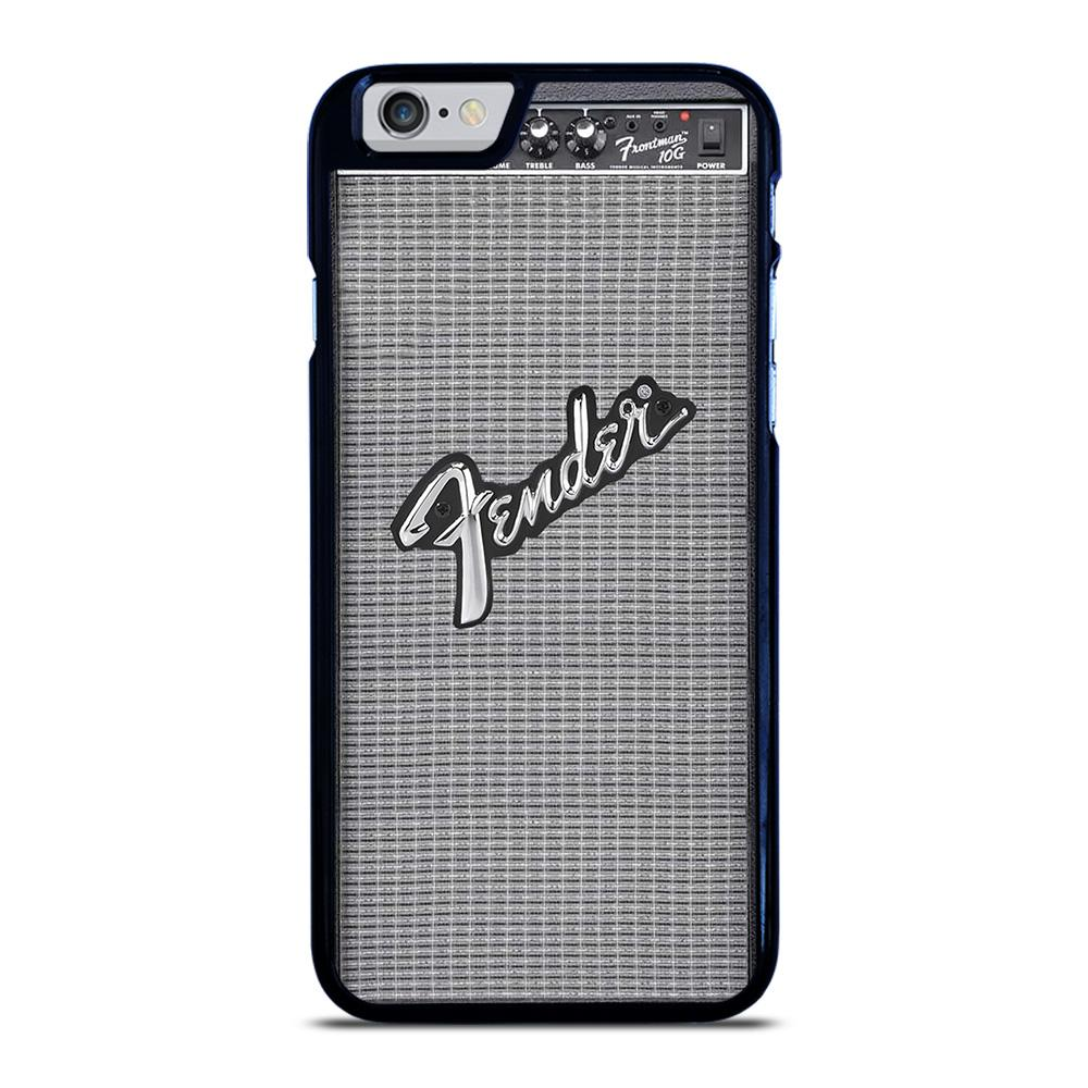 FENDER GUITAR AMP EMBLEM iPhone 6 / 6S hoesje