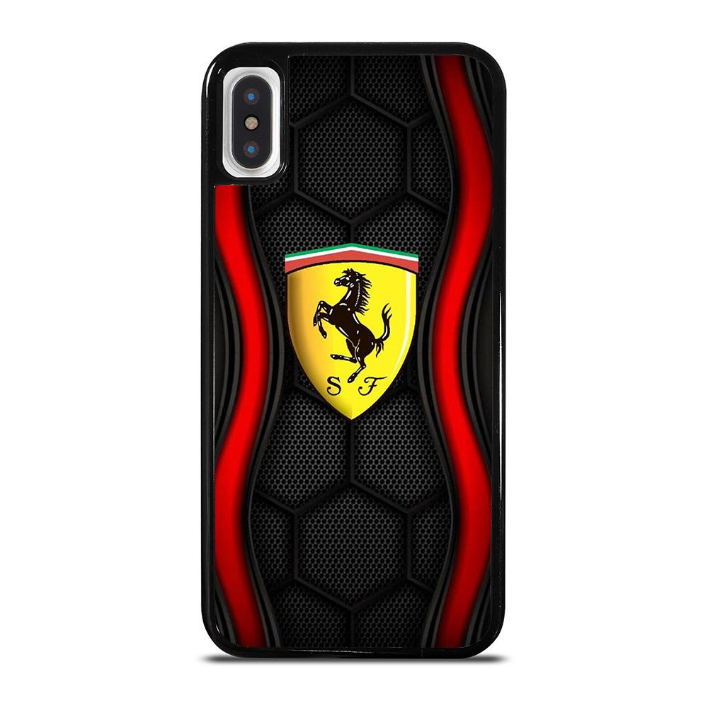 FERRARI CAR LOGO iPhone X / XS Hoesje