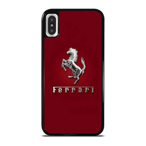 FERRARI LOGO RED iPhone X / XS Hoesje