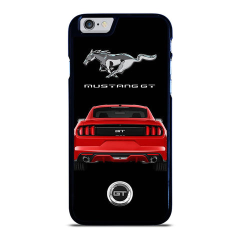 FORD MUSTANG GT RED CAR iPhone 6 / 6S hoesje