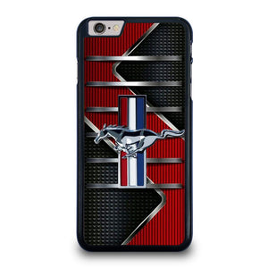 FORD MUSTANG METAL LOGO iPhone 6 / 6S Plus Hoesje