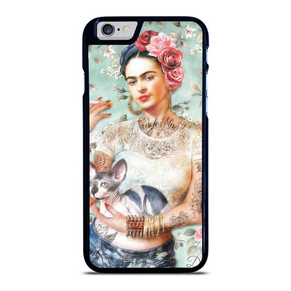 FRIDA KAHLO TATTOO iPhone 6 / 6S hoesje
