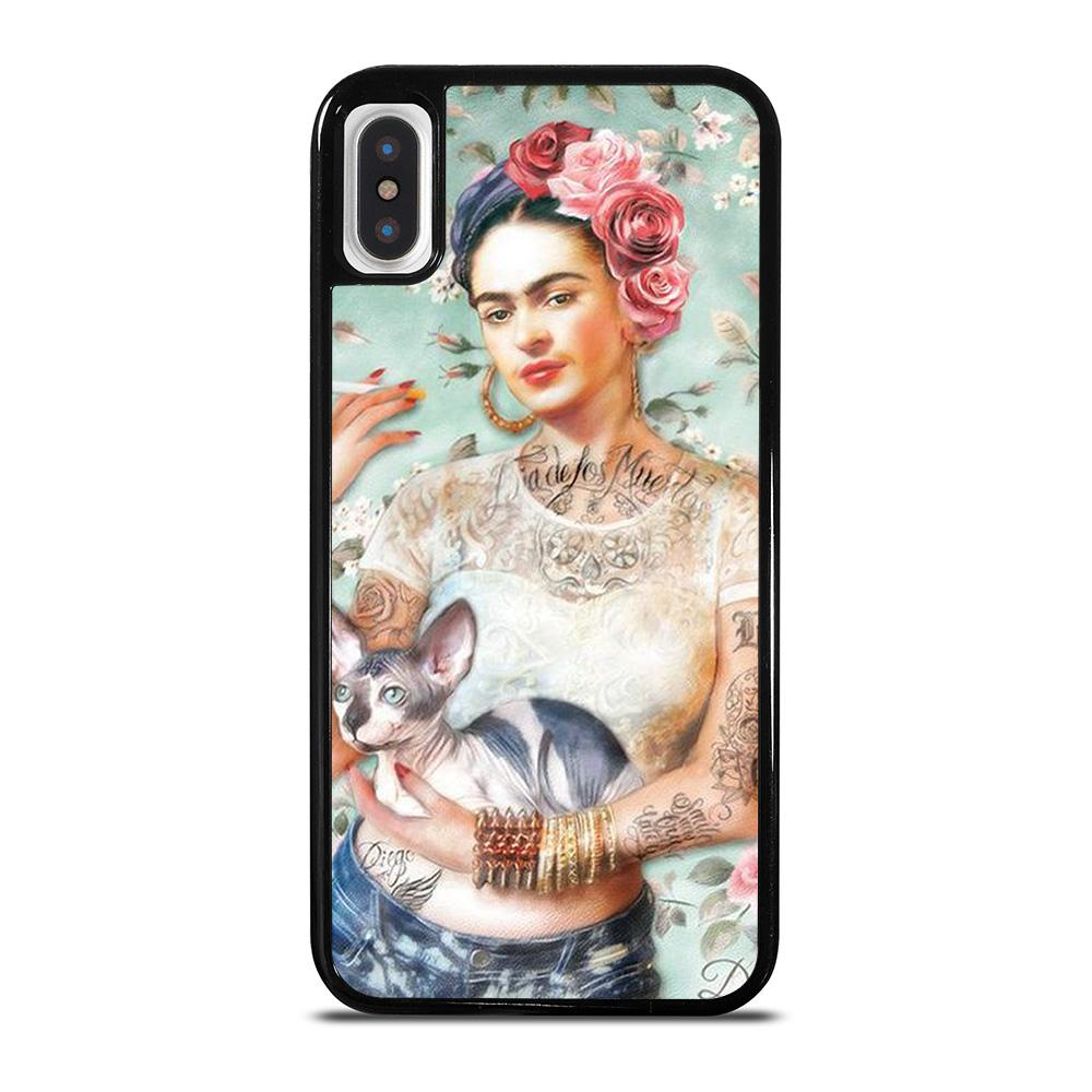 FRIDA KAHLO TATTOO iPhone X / XS Hoesje