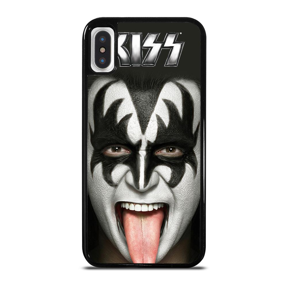 GENE SIMMONS KISS BAND iPhone X / XS Hoesje