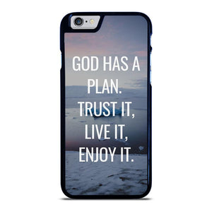 GOD HAS A PLAN QUOTE iPhone 6 / 6S hoesje
