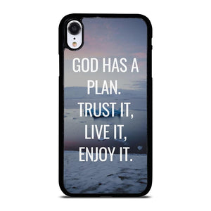 GOD HAS A PLAN QUOTE iPhone XR Hoesje,iphone xr hoesje kopen iphone xr hoesje zwart,GOD HAS A PLAN QUOTE iPhone XR Hoesje