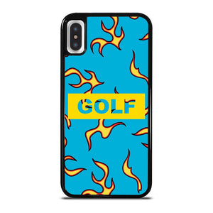 GOLF WANG FLAME LOGO iPhone X / XS Hoesje
