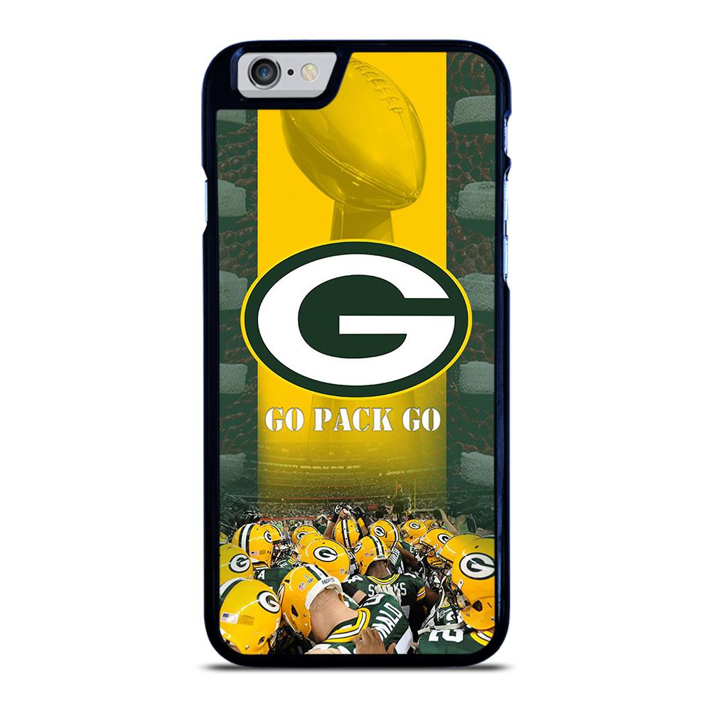 GREEN BAY PACKERS GO PACK GO iPhone 6 / 6S hoesje