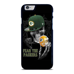 GREEN BAY PACKERS SKULL iPhone 6 / 6S hoesje