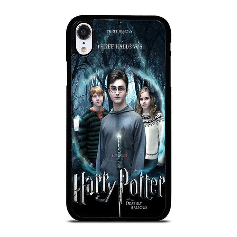 HARRY POTTER AND DEATHLY HALLOWS iPhone XR Hoesje,iphone xr hoesje leer iphone xr hoesje leer,HARRY POTTER AND DEATHLY HALLOWS iPhone XR Hoesje