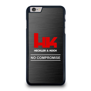 HECKLER AND KOCH NO COMPROMISE iPhone 6 / 6S Plus Hoesje