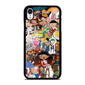 HEY ARNOLD COLLAGE iPhone XR Hoesje,iphone xr hoesje siliconen beste xr hoesje,HEY ARNOLD COLLAGE iPhone XR Hoesje